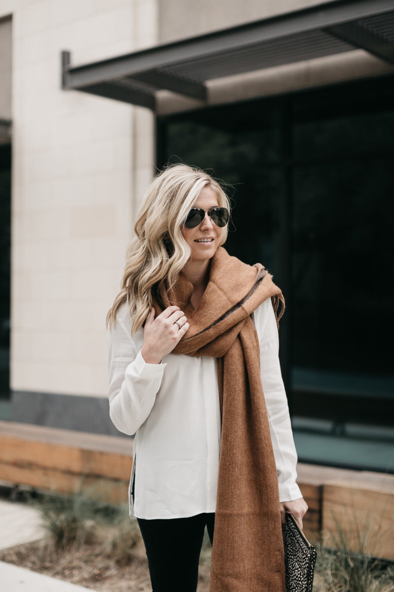 fall accessories, aviators, scarves