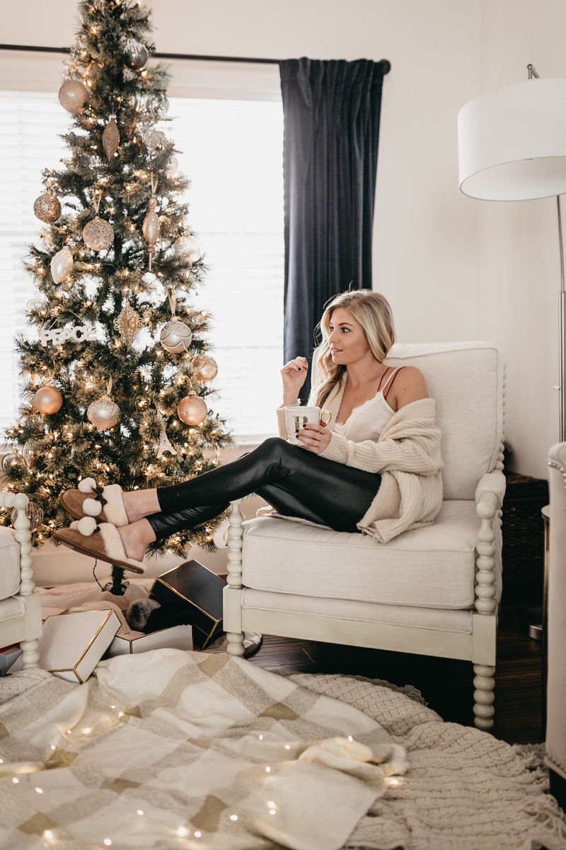 ugg accessories, holiday home decor, style blogger