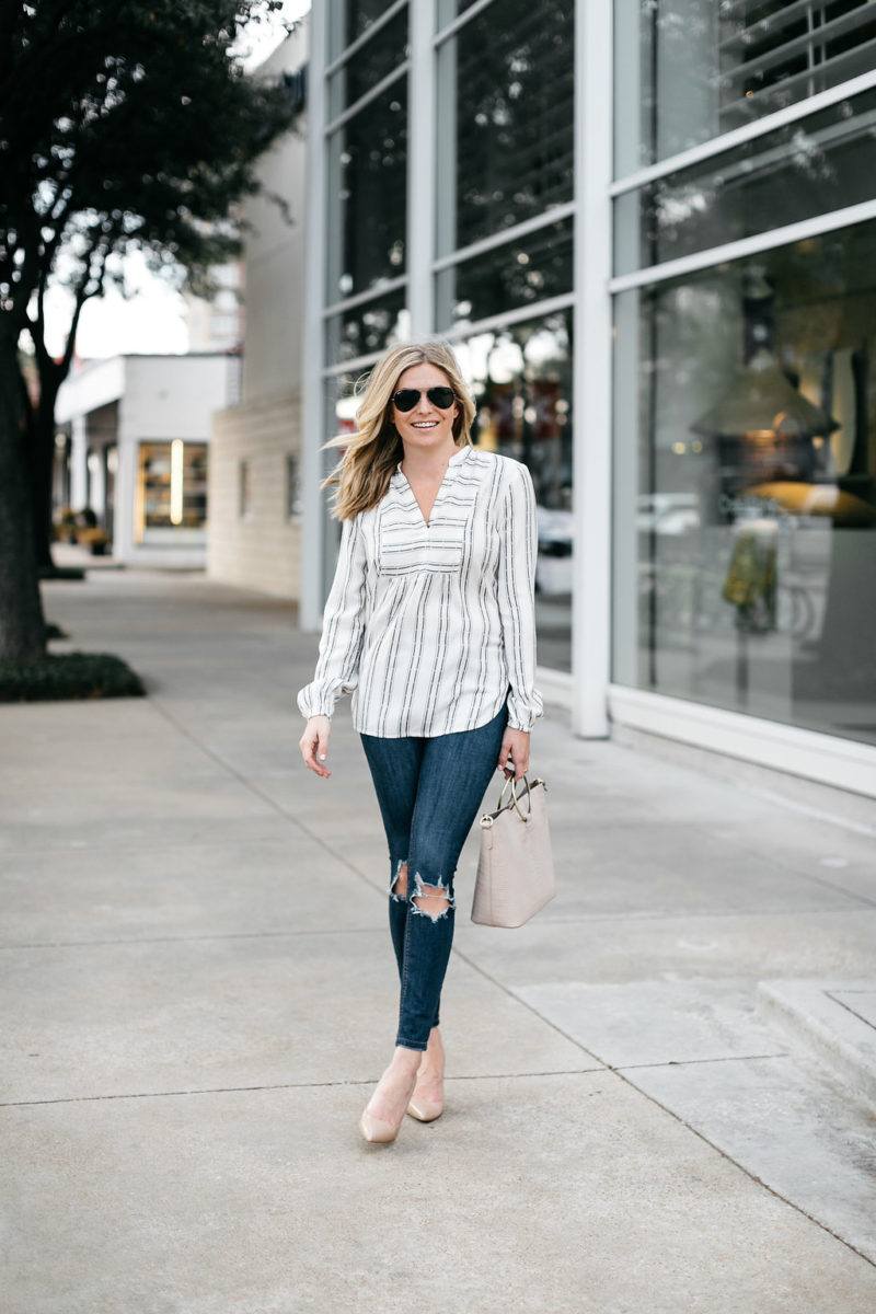 casual spring tops, women's casual spring tops, dallas spring fashion