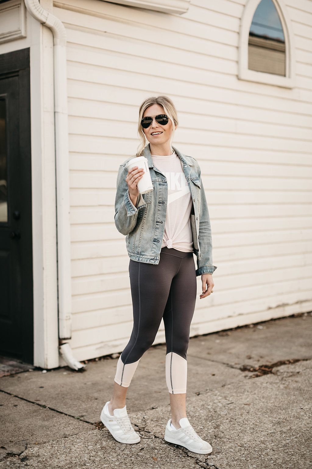 Dallas lifestyle blogger's weekly workout routine