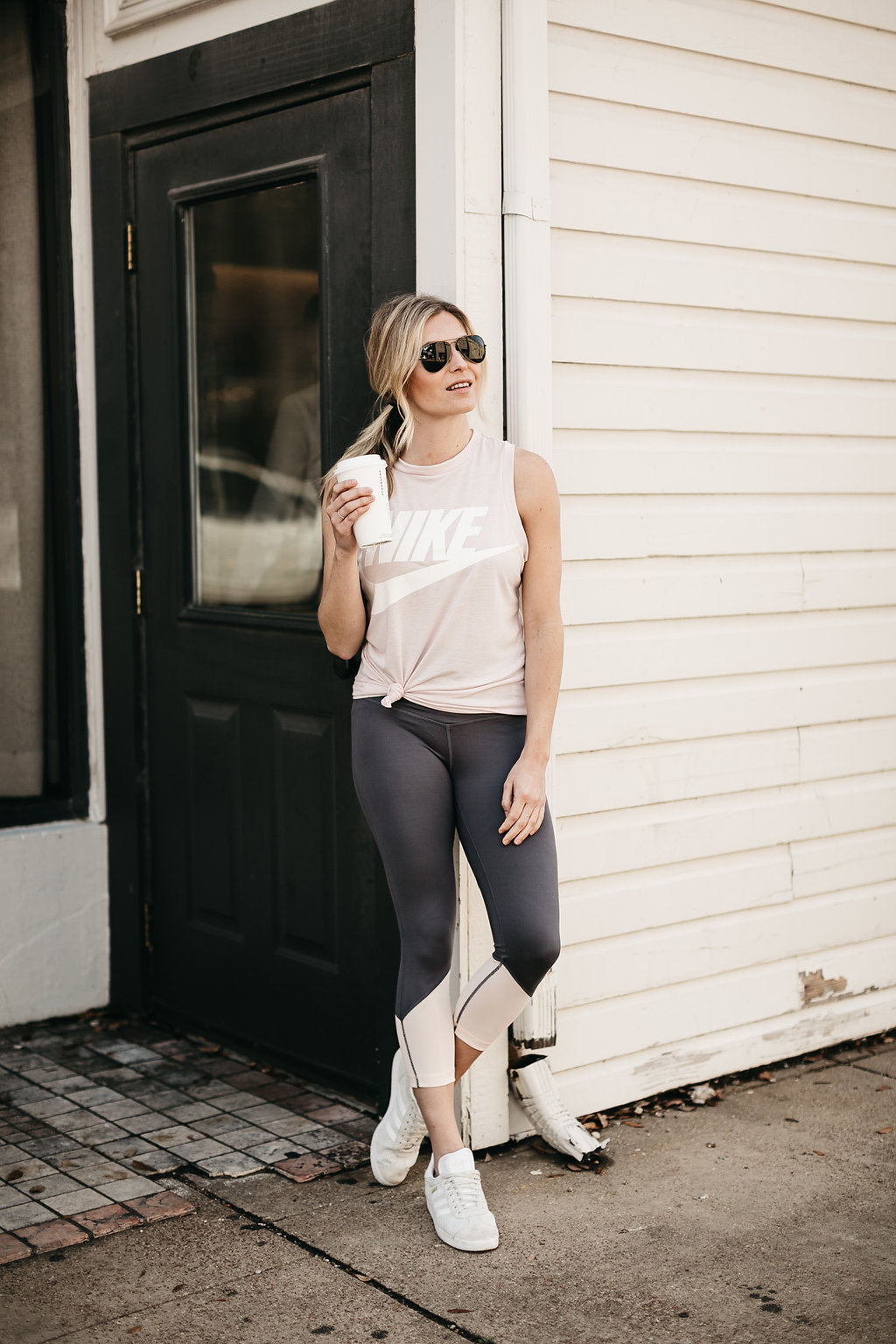 Brooke Burnett in workout wear
