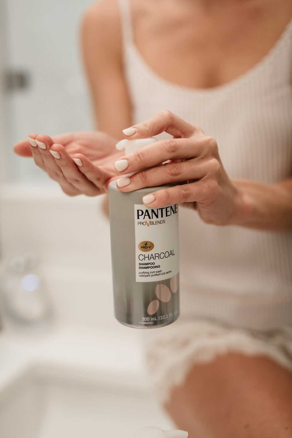 Pantene Charcoal Collection - One Small Blonde
