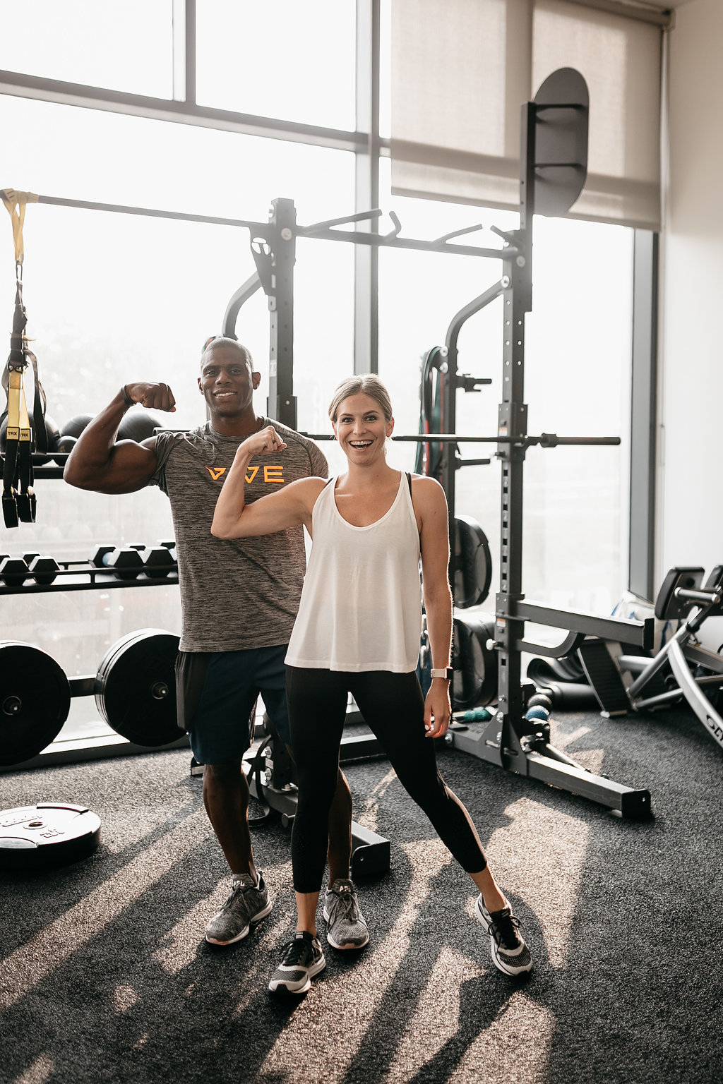 a personal trainer at vive for body reset program