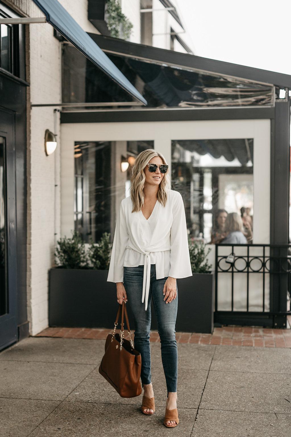 Tiffany Asymmetrical Blouse TOPSHOP