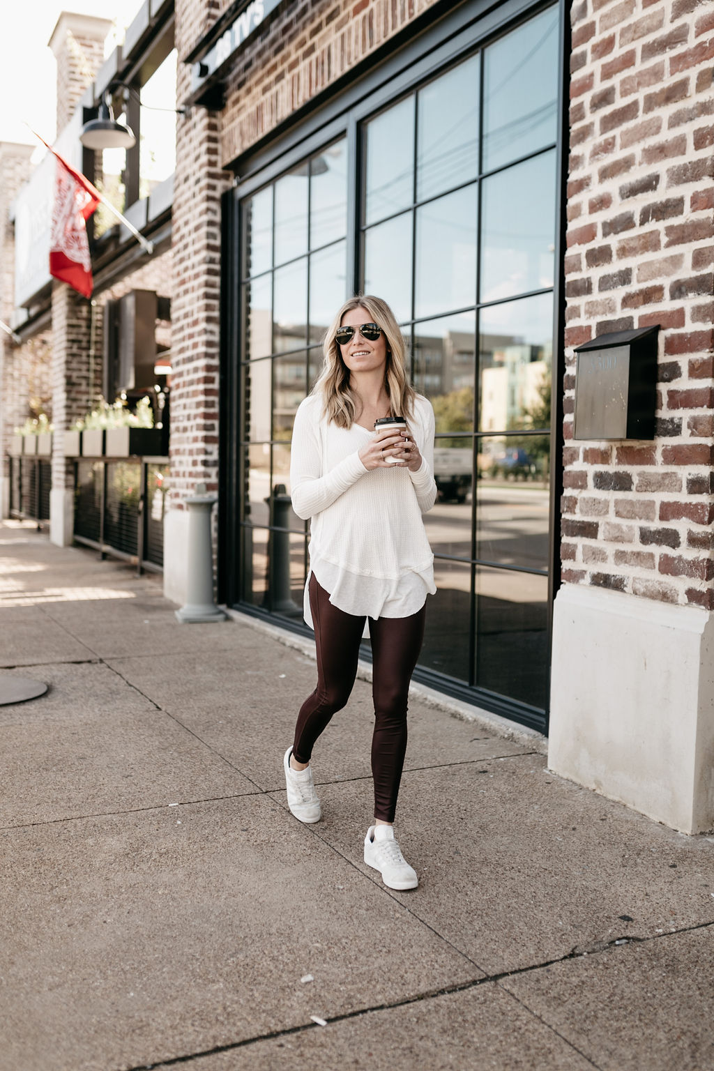 Catalina V-Neck Thermal Top FREE PEOPLE