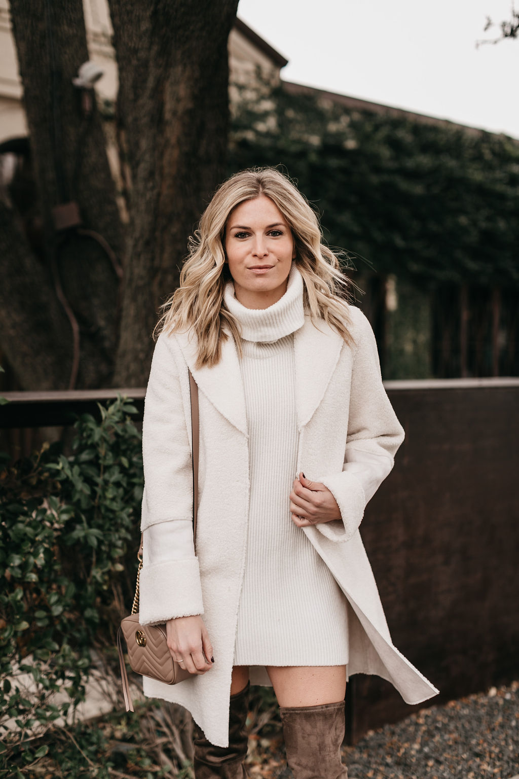 WINTER WHITE COATS - ONE SMALL BLONDE