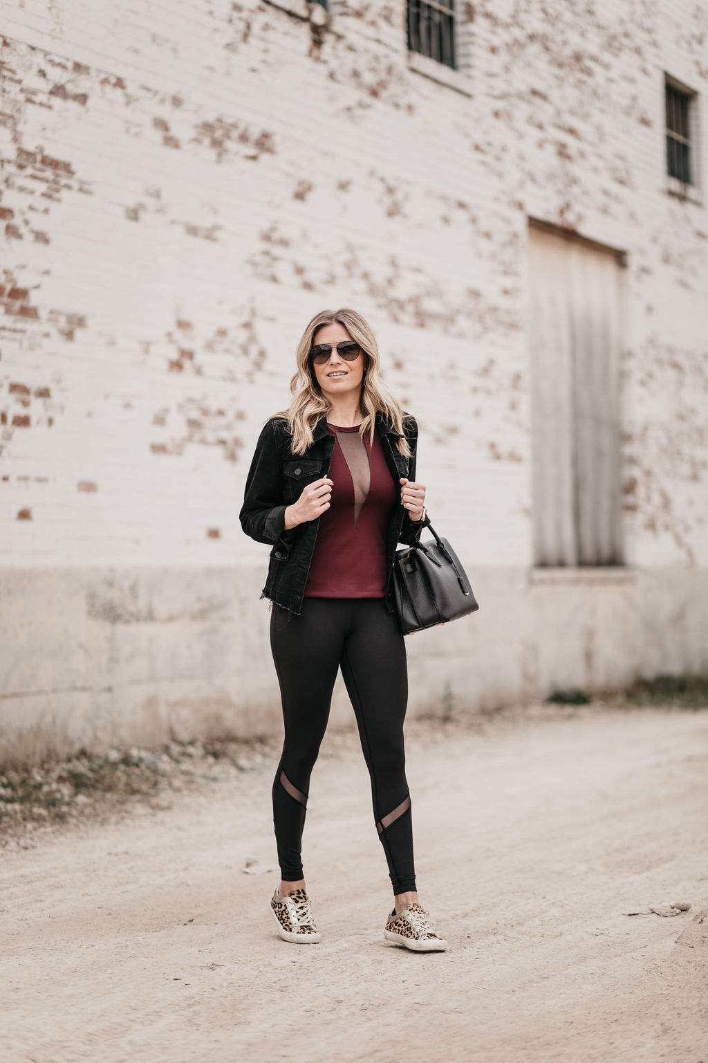 dallas blogger athleisure clothing line - one small blonde collection