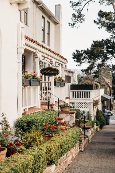 Street in Carmel By The Sea