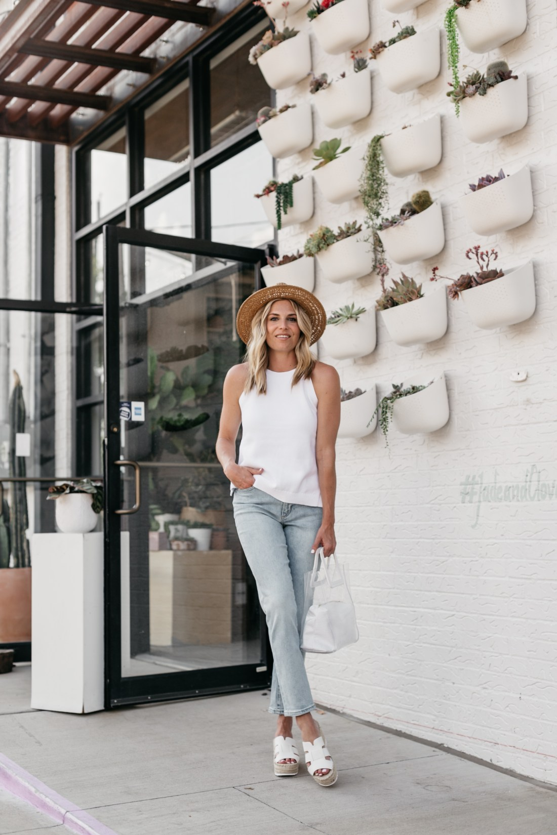 Summer outfit with Banana Republic