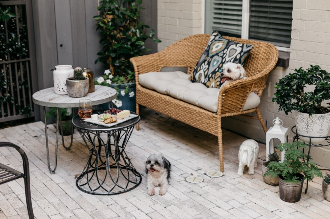Patio Decor with At Home