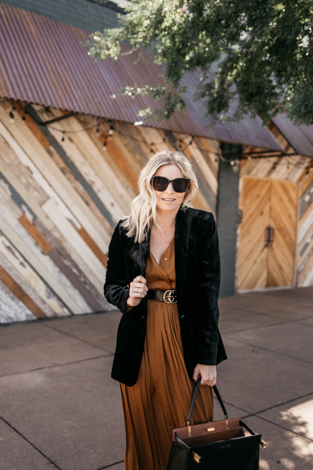 COPPER DRESS outfit