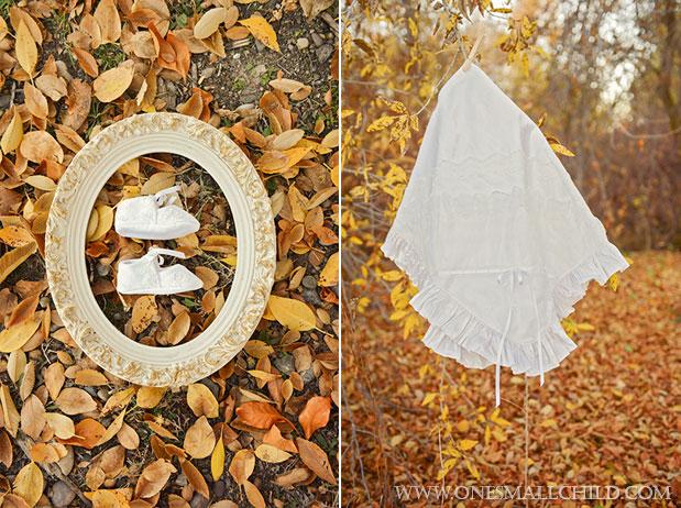Natalia Slippers & Blanket Fall Christening 2013 | One Small Child