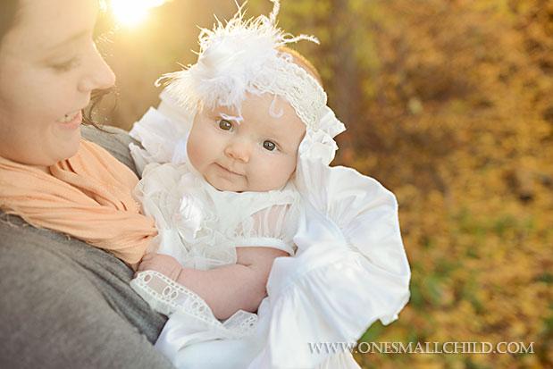 Tallie Dress Fall Christening 2013 | One Small Child
