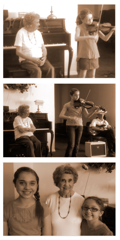 Violins with Grandma | Spending Time with Family
