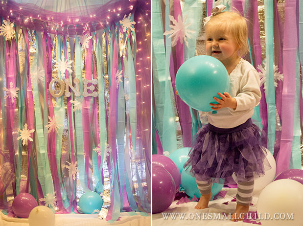 Winter 'One'derland First Birthday Party
