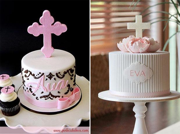 Girls Christening Cakes
