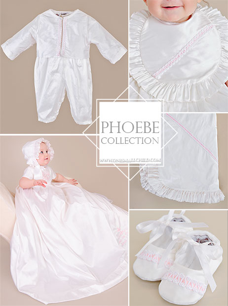 Looking to make a statement? The Phoebe is one of the Ultimate Christening Outfits from OneSmallChild.com