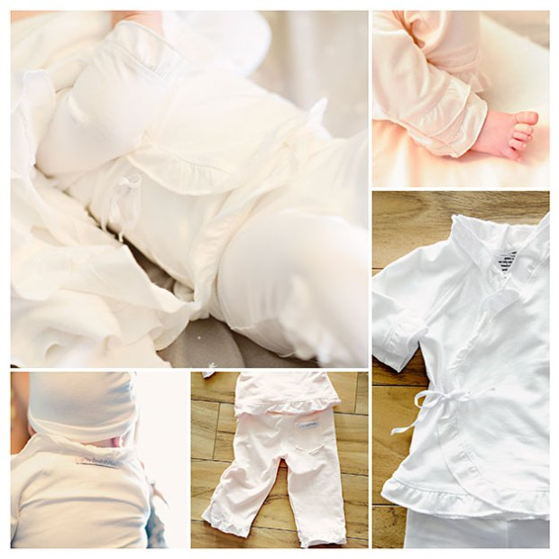 Girls Bamboo Layette Sets | One Small Child