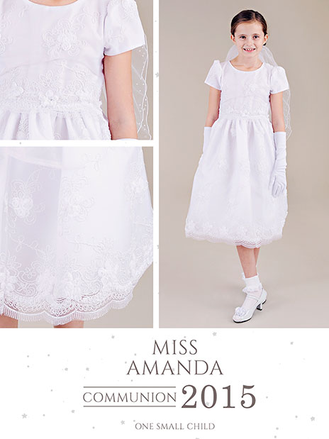 Miss Amanda Summer Communion Dress