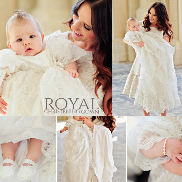 How the Royal Christening Gowns are made.