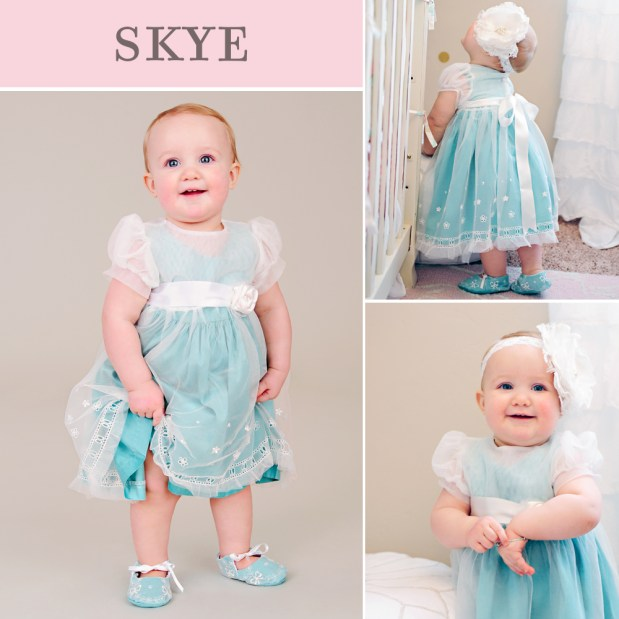 Skye First Birthday Party Dress