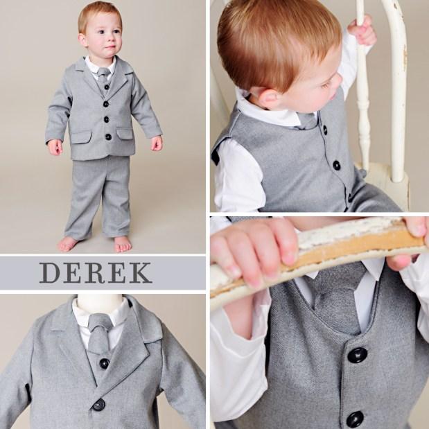 Derek Gray Cashmere Baby Suit