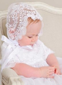 Lillian Lace Christening Gown