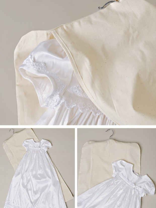 Christening Gown Keepsake Bag | One Small Child by Katy Lane