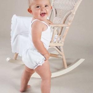 Cotton Christening Diaper Cover