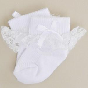 Lace Ruffle Socks