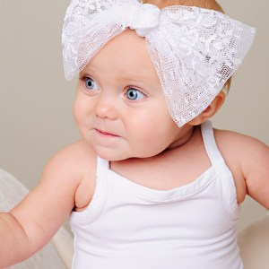 Memory Lace Bow Headband