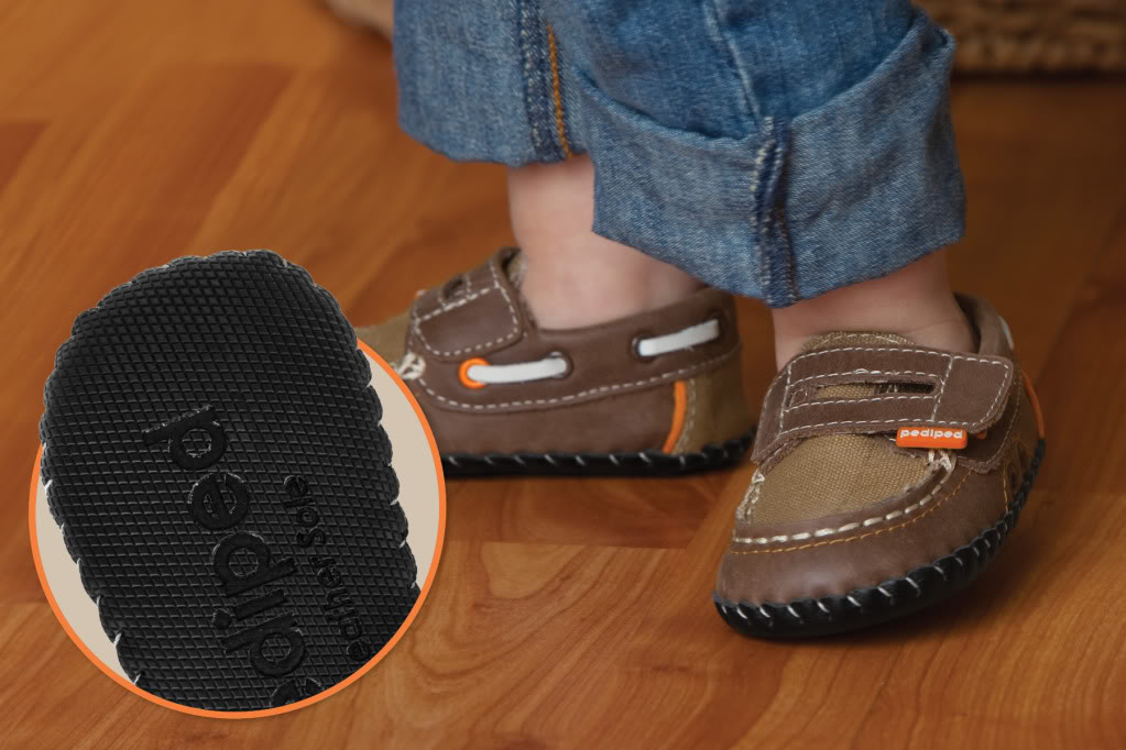 Pediped: New Improved Slip Resistant Leather Sole for ...