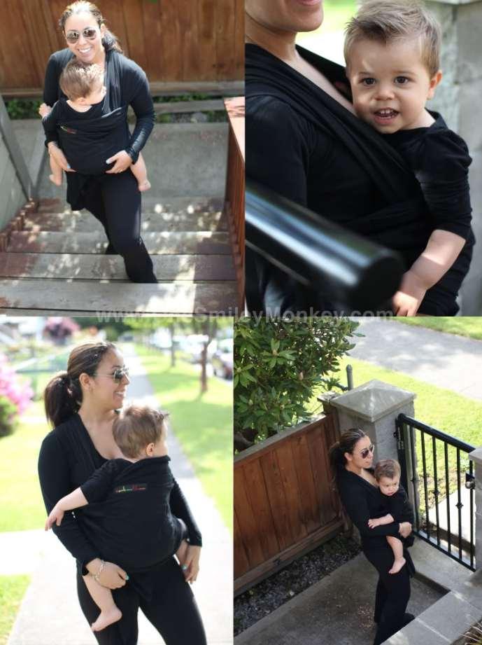 Je Porte Mom Bebe Toddler and Baby Wrap