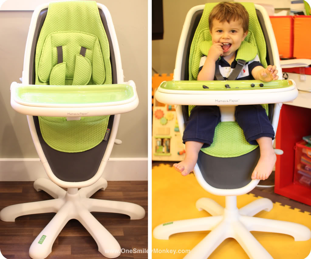 high chair cover replacement mamas and papas bedroom footstool loop review giveaway