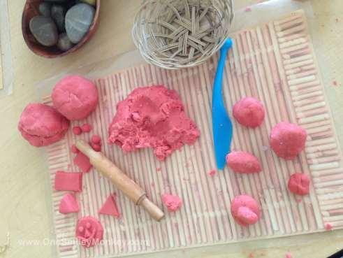 Home made playdough recipe