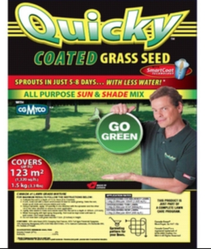 quickly grass seed