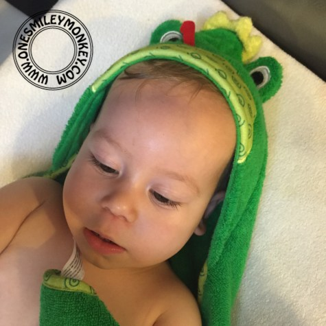 froggy towel