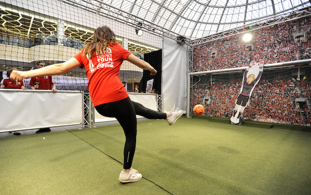 photo trates one of the interactive Fan Experience elements during the FIFA Womens World Cup Trophy Tour by Coca-Cola_zpsupagrww0.jpg