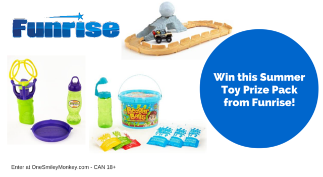 Summer toy prize pack giveaway