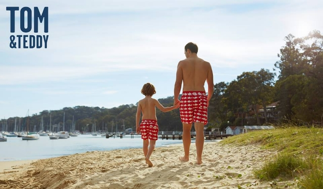 Tom & Teddy: Swimwear for Men and Boys