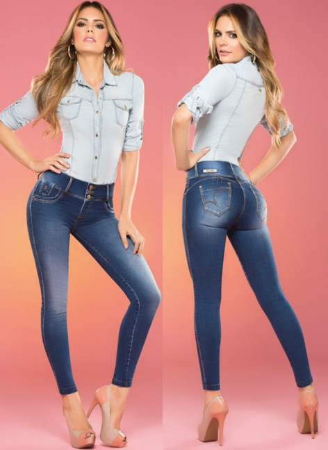colombian jeans push up jean