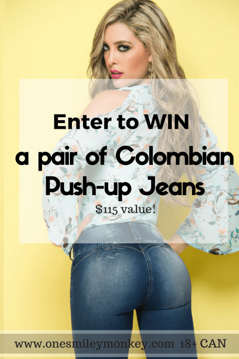 Colombian Push-up Jeans GIVEAWAY