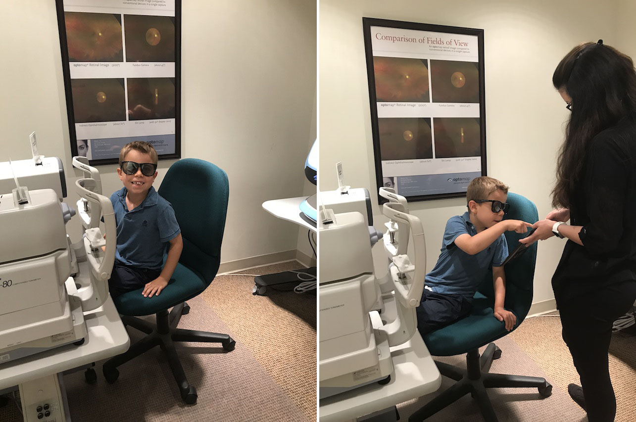 Getting your Child's Eyes Checked before School Starts!