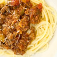 Easy And Delicious Spaghetti Sauce with Ground Beef Recipe