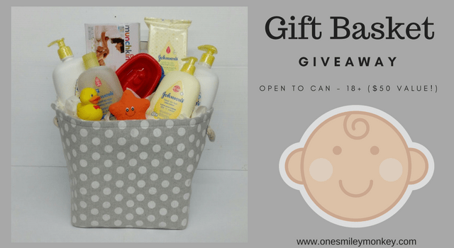 JOHNSON'S Baby Gift Basket Flash Giveaway!