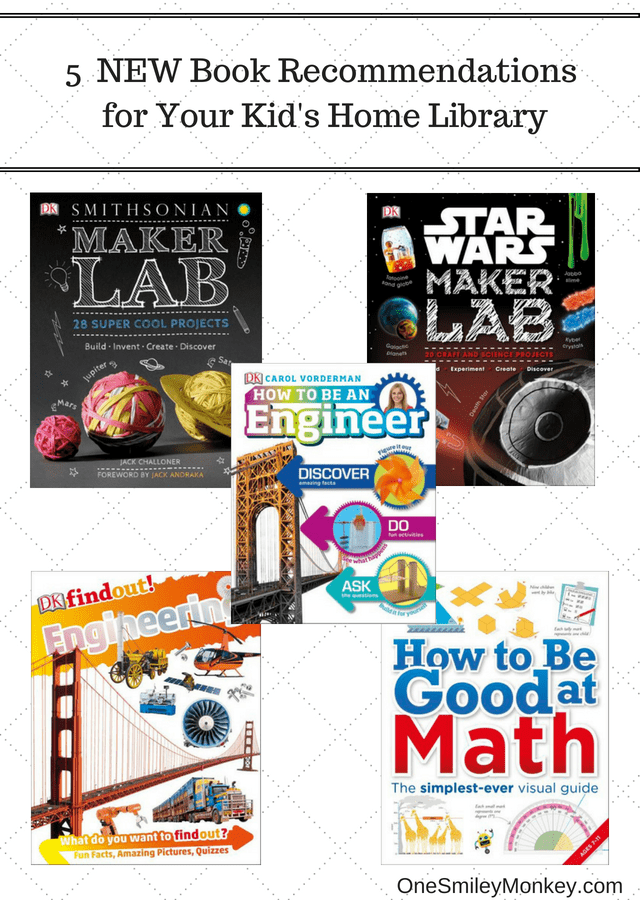 5 Summer STEM Book Recommendations