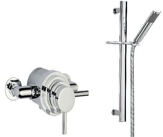 Sagittarius Metro Shower Kit & Thermostatic Valve Set