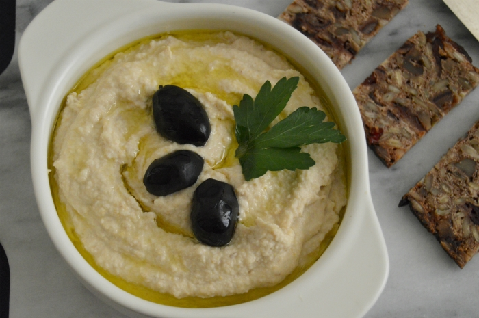 Homemade hummus for healthy start of new year…