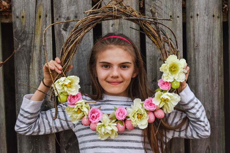 Spring – Easter wreath