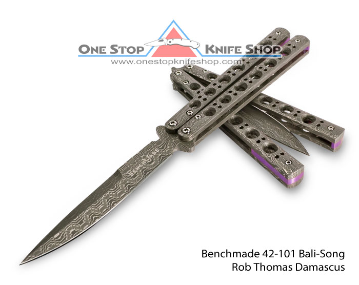 Discontinued Benchmade 42 101 Gold Class Balisong